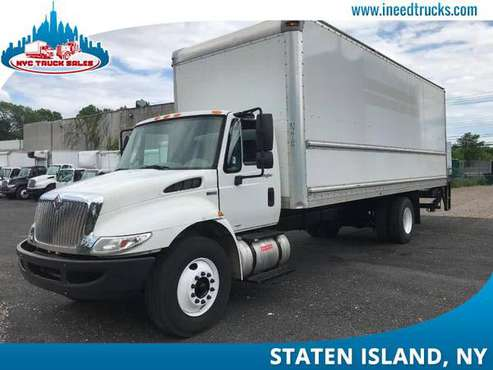 2011 INTERNATIONAL 4300 26' FEET NON CDL LIFT GATE 26FT BOX T-New Have for sale in Staten Island, CT
