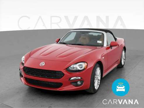 2019 FIAT 124 Spider Lusso Convertible 2D Convertible Red - FINANCE... for sale in Indianapolis, IN