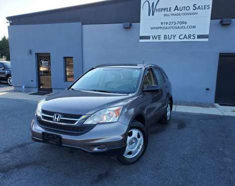 2010 Honda CR-V LX 4WD - CLEAN CARFAX, WARRANTY INCLUDED! for sale in Raleigh, NC