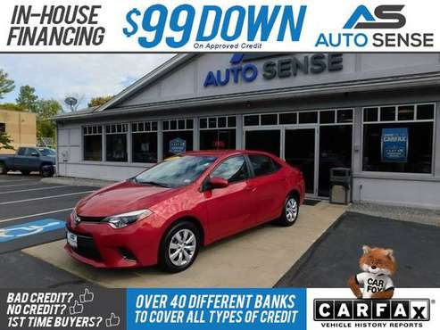 2016 Toyota Corolla LE - BAD CREDIT OK! for sale in Salem, NH