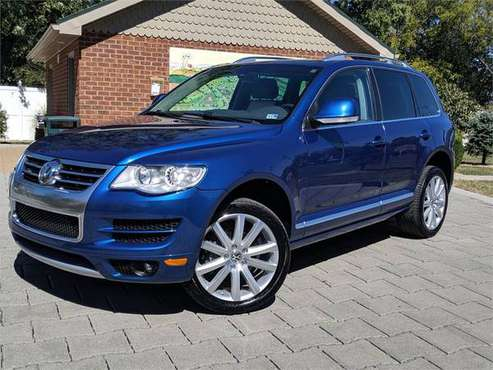 2010 Volkswagen Touareg TDI Lux Limited, Blue for sale in Dayton, VA