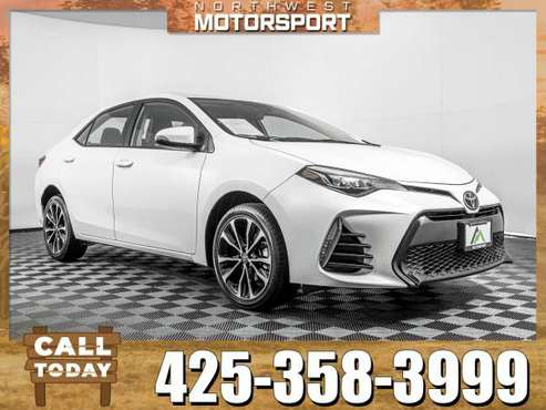*SPECIAL FINANCING* 2018 *Toyota Corolla* XSE FWD for sale in Lynnwood, WA