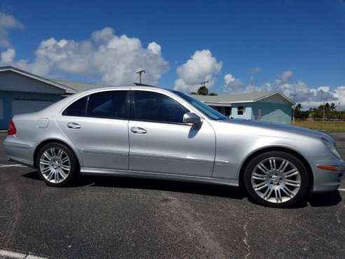 2007 MERCEDES BENZ E350 ~Navigation Package w.Harman Kardan sound for sale in Satellite Beach, FL