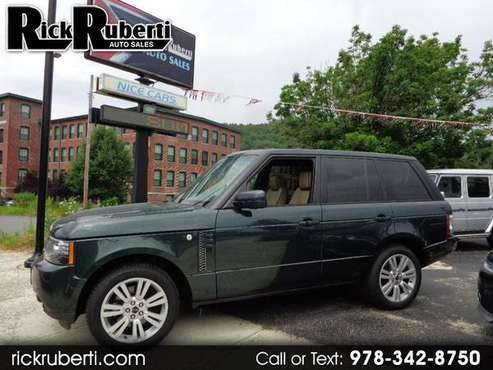 2012 Land Rover Range Rover HSE for sale in Fitchburg, MA