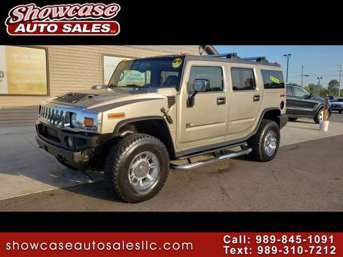 WOW!!! 2005 HUMMER H2 4dr Wgn SUV for sale in Chesaning, MI