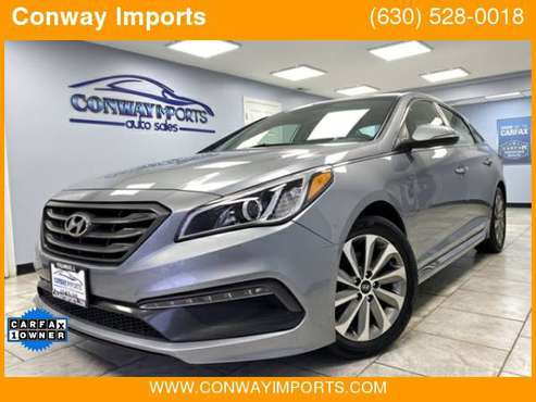 2015 Hyundai Sonata Sport * Low Miles * Gas Saver * $219/mo* Est. for sale in Streamwood, IL