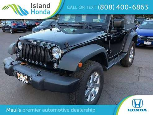 2014 Jeep Wrangler 4WD 2dr Sport for sale in Kahului, HI