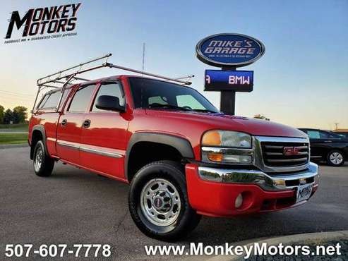 2003 GMC Sierra 1500HD 4dr Crew Cab 4WD // LOW MILES // ONE OWNER for sale in Faribault, MN