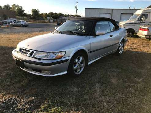 2001 Saab 9-3 convertible for sale in Matthews, NC