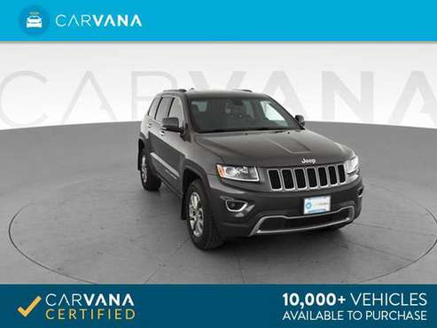 2014 Jeep Grand Cherokee Limited Sport Utility 4D suv Gray - FINANCE for sale in Auburndale, MA