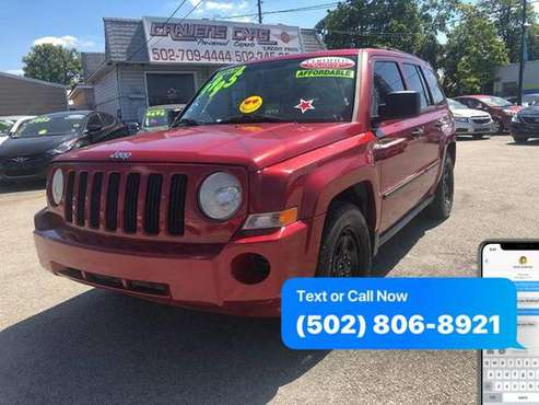 2007 Jeep Patriot Sport 4x4 4dr SUV EaSy ApPrOvAl Credit Specialist for sale in Louisville, KY