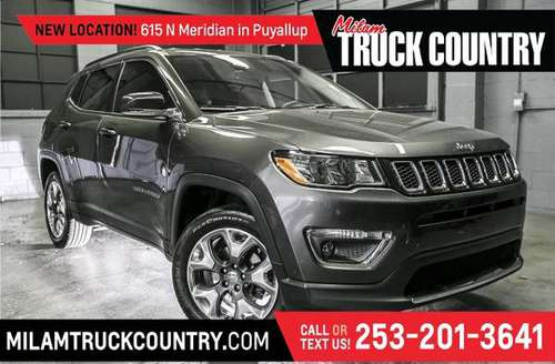 *2017* *Jeep* *New Compass* *Limited 4WD* for sale in PUYALLUP, WA