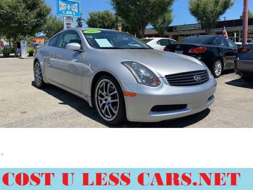 2005 Infiniti G35 Base Rwd 2dr Coupe for sale in Roseville, CA