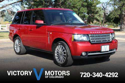 2012 Land Rover Range Rover Supercharged - Over 500 Vehicles to... for sale in Longmont, CO