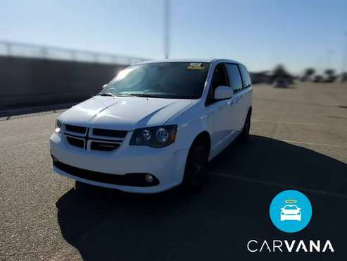 2018 Dodge Grand Caravan Passenger GT Minivan 4D van White - FINANCE... for sale in Atlanta, CA