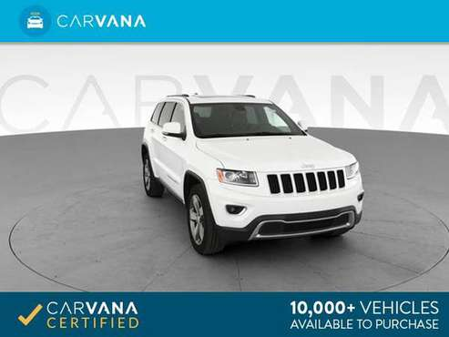 2014 Jeep Grand Cherokee Limited Sport Utility 4D suv White - FINANCE for sale in Detroit, MI