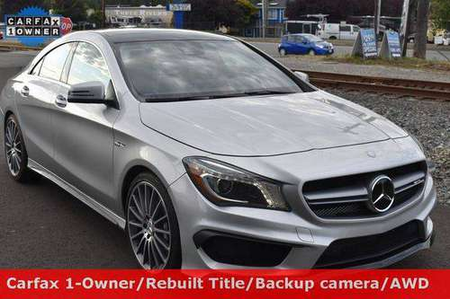 2016 Mercedes-Benz CLA CLA 45 AMG Model Guaranteed Credit for sale in Woodinville, WA
