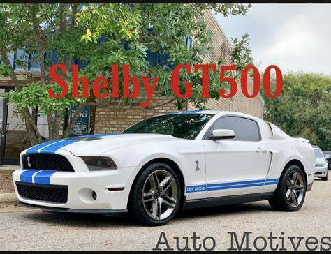 **MUSTANG SHELBY GT500**SUPERCHARGED*CARFAX NO ACCIDENTS**FINANCING** for sale in Greensboro, NC