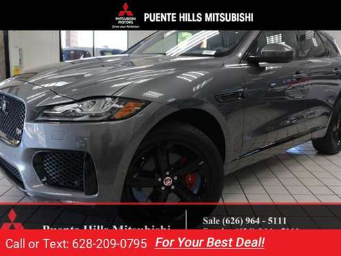 2017 Jag Jaguar FPACE S SUV *Navi*LowMiles*Warranty* for sale in City of Industry, CA