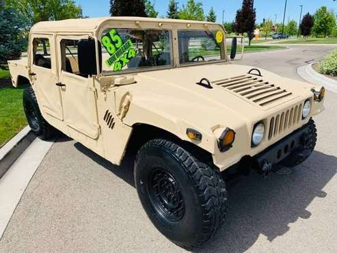 1985 Hummer H1 American General H1! 4x4 Former Military! Diesel BEAST! for sale in Boise, ID
