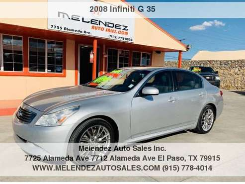 2008 Infiniti G 35 4dr Journey RWD for sale in El Paso, TX