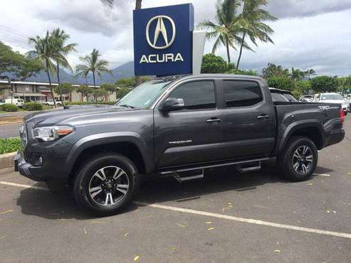 2016 Toyota Tacoma TRD Off Road 4x2 4dr Double Cab 5.0 ft SB GOOD/BAD for sale in Kahului, HI