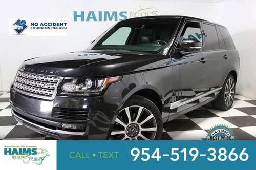 2014 Land Rover Range Rover 4WD 4dr HSE for sale in Lauderdale Lakes, FL