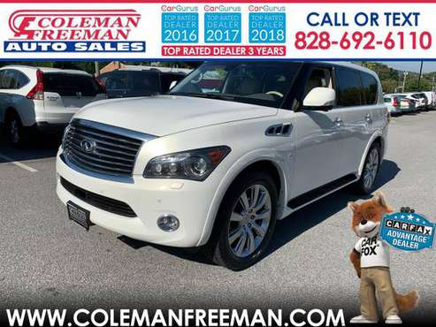 2014 Infiniti QX80 4WD 4dr for sale in Hendersonville, NC