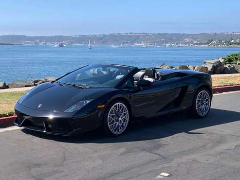 2010 Lamborghini Gallardo LP560-4 Spyder..Loaded, 14k Miles, Pristine! for sale in San Diego, CA