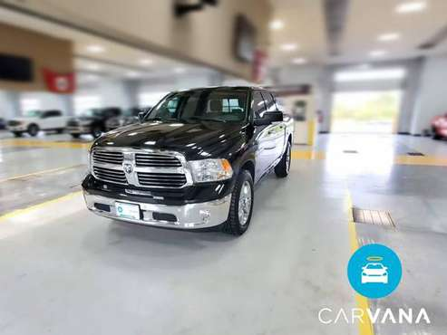 2017 Ram 1500 Crew Cab SLT Pickup 4D 5 1/2 ft pickup Black - FINANCE... for sale in Farmington, MI