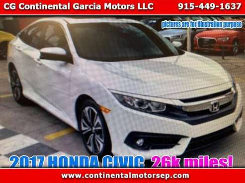 2017 Honda Civic LX Sedan CVT for sale in El Paso, TX