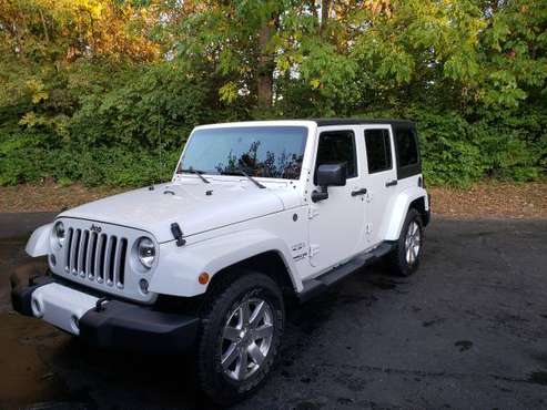 2016 Jeep Wrangler Unlimited Sahara for sale in Greenwood, IN