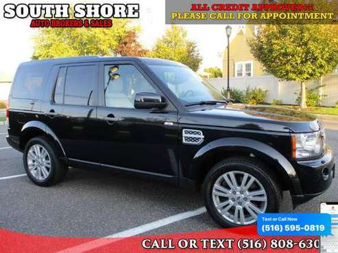 2012 Land Rover LR4 4WD 4dr HSE - Good or Bad Credit- APPROVED! for sale in Massapequa, NY