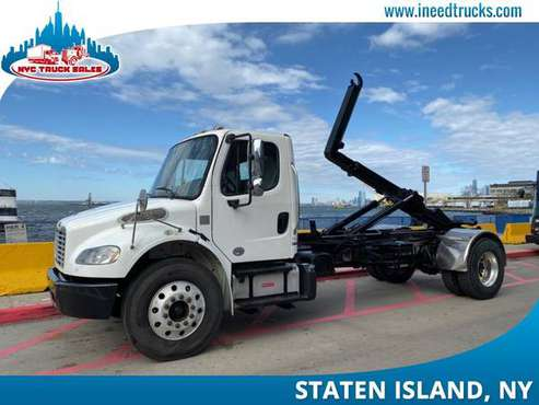 2014 FREIGHTLINER M2 HOOKLIFT NON CDL AUTOMATIC CUMMINS ENGIN-maryland for sale in Staten Island, District Of Columbia