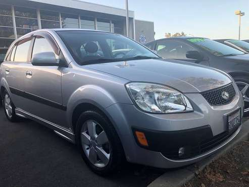 2012 Kia Rio 5 SX Sport Hatchback Silver 4 Cyl Auto Loaded Clean for sale in SF bay area, CA