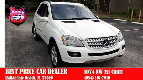 2006 MERCEDES BENZ ML500 LUX SUV***LOADED***BAD CREDIT OK + LOW PAYMNT for sale in Hallandale, FL