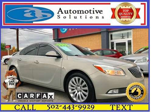 2011 Buick Regal CXL 4dr Sedan w/RL2 for sale in Louisville, KY