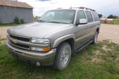 2003 Chevy 4x4 Suburban for sale in Springer, TX