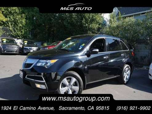 2012 Acura MDX All Wheel Drive SH-AWD w/Tech w/RES SUV for sale in Sacramento, NV
