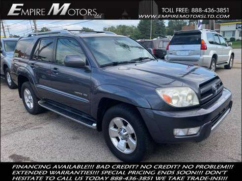 2004 Toyota 4Runner Limited 4WD V8. WARRANTY!! Clean Carfax!! Leather! for sale in Cleveland, OH