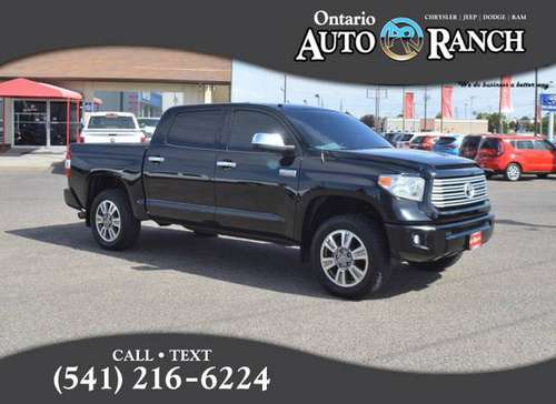 2014 Toyota Tundra Platinum for sale in Ontario, ID