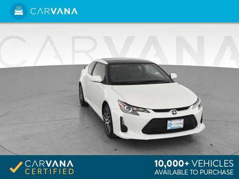 2016 Scion tC Hatchback Coupe 2D coupe White - FINANCE ONLINE for sale in Richmond , VA