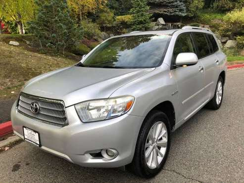 2008 Toyota Highlander Hybrid Limited 4WD --Leather, 3rd Row, Clean-- for sale in Kirkland, WA