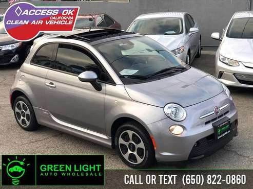 2016 FIAT 500e specialist moonroof-peninsula for sale in Daly City, CA