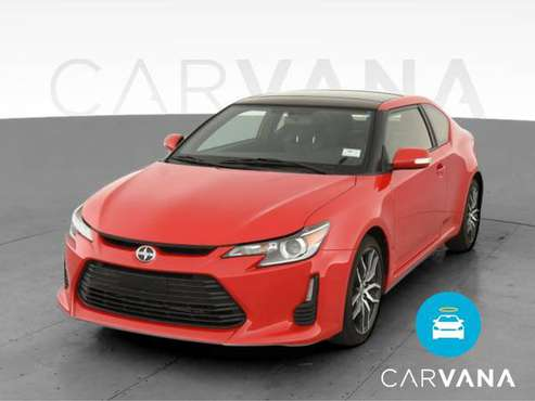 2015 Scion tC Hatchback Coupe 2D coupe Red - FINANCE ONLINE - cars &... for sale in Sausalito, CA