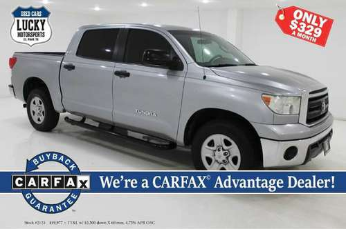 2011 TOYOTA TUNDRA CREWMAX SR5 for sale in El Paso, TX