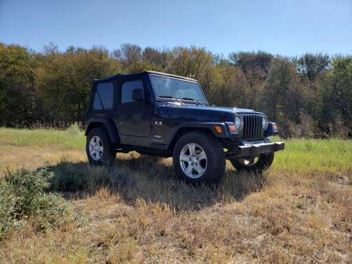 Super clean 2005 Wrangler TJ - 4.0 - 6 speed. for sale in Austin, TX