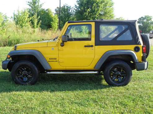 2011 JEEP WRANGLER SPORT V6 6-SPEED 78K MILES *FINANCING AVAILABLE* for sale in Rushville, KY
