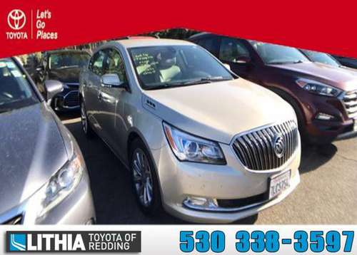 2015 Buick LaCrosse FWD 4dr Car 4dr Sdn Leather FWD for sale in Redding, CA