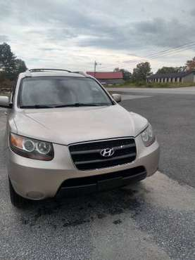 2007 Hyundai Santa Fe, Clean, No Rust, Dependable (New Sticker) for sale in Augusta, ME